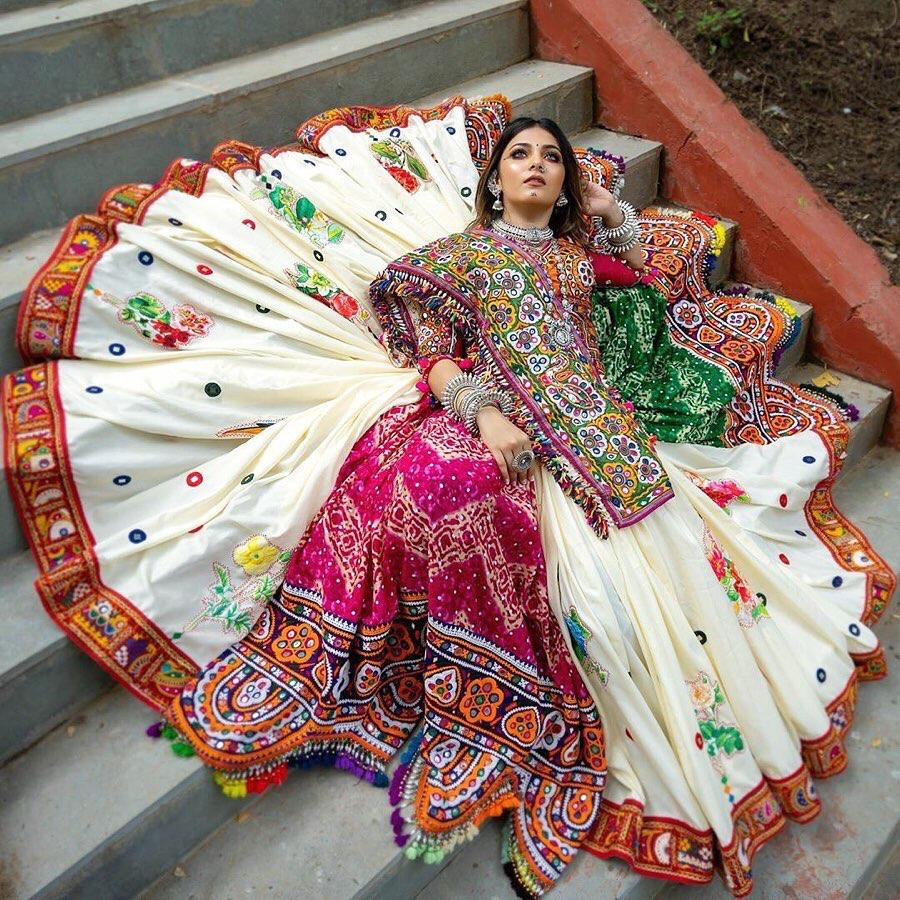 Adorable Multi Color Designer Digital Printed Soft Butter Silk Festive Wear Lehenga Choli
