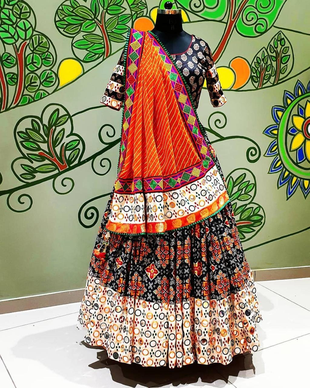 Phenomenal Wear Multi Color Soft Butter Silk Designer Digital Printed Fancy Lehenga Choli For Ladies